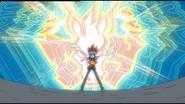 Gingka entfesselt seine Kraft