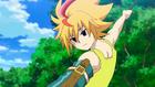 Burst Surge E5 - Free Helping Hikaru and Hyuga