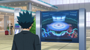 Beyblade Burst Evolution Episode 50 - Kento Aoi watching the final of International Bladers Cup (2)