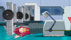 Burst Surge E11 - Hyuga Being Sucked Up by the Cleaning Machine