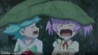 Nika and Tako crying