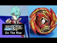 BEYBLADE BURST - On The Rise Series- Episode 6 - Delta & The Rebirth of Devolos!