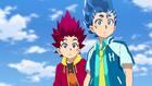 Burst Surge E9 - Confused Hikaru and Hyuga