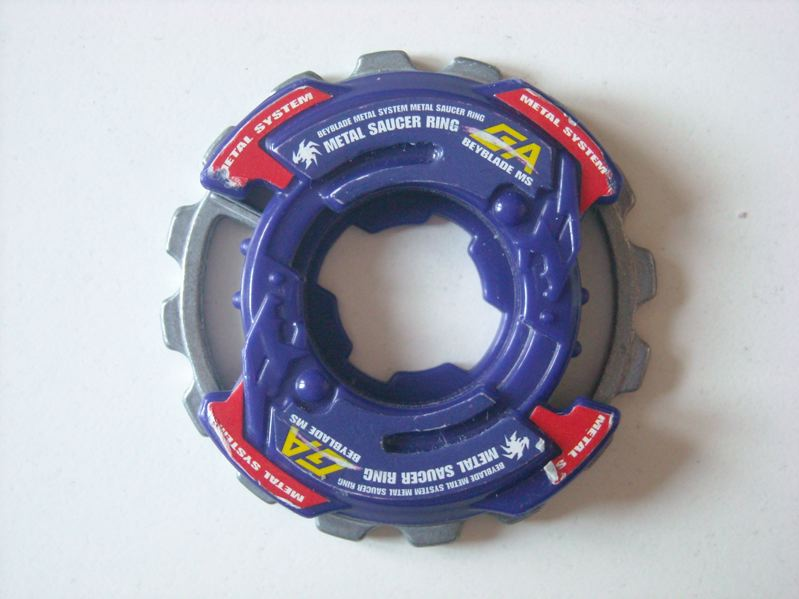 Attack Ring - Metal Saucer
