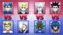 4 on 4 beyblade battle