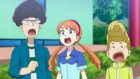 Burst Surge E9 - Reina, Guy, and Chuck After Realizing Who Dante Was
