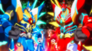Beyblade Burst Superking King Helios Zone 1B & Super Hyperion Xceed 1A 1