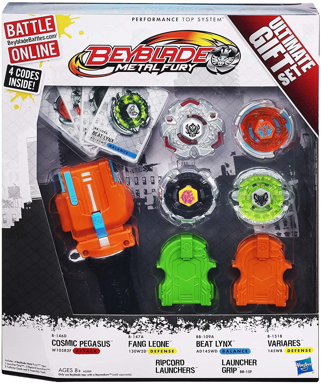 Beyblade Metal Fury: Ultimate Gift Set