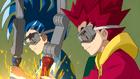 Burst Surge E1 - Hikaru and Hyuga Working on Their Lightning Beys