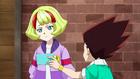 Burst Rise E1 - Taka Showing Ichika Dante and Arman's Battle