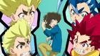 Burst Surge E2 - Hikaru, Hyuga, Rantaro, and Ranjiro Going Off on Guy