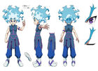 Beyblade Burst Superking Lui Shirasagijo Concept Art 4