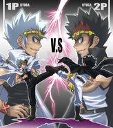 Ryuga vs. Ryuga
