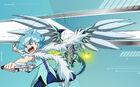 Beyblade Burst Evolution Lui Shirosagi and Nightmare Lúinor Avatar USA Website Poster