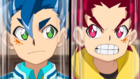 Burst Surge E4 - Hikaru and Hyuga Ready for Twin Strike