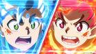 Hikaru's and Hyuga's flares