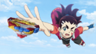 Chouzetsu Muteki Blader! OP 4 - Aiga Reaching Out for Chouzetsu Achilles