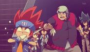 Beyblade metal Fury 01