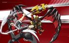 Beyblade Burst Evolution Red Eye and Legend Spryzen Avatar USA Website Poster