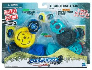 Atomic Burst Attack 2-Pack