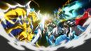 Beyblade Burst Chouzetsu Geist Fafnir 8' Absorb (Geist Fafnir 8'Proof Absorb) vs Cho-Z Valkyrie Zenith Evolution