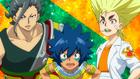 Chouzetsu Muteki Blader! OP 2 - Ranjiro, Laban, and Houi