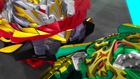 Burst Rise E22 - Bushin Ashindra Hitting Prime Apocalypse's Sword
