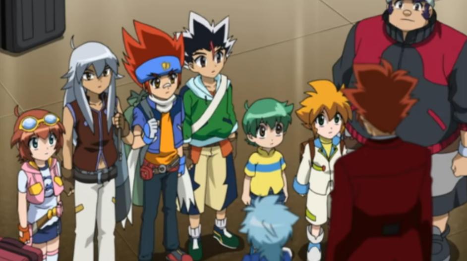 Gingka's gang