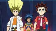 Aiga, Ranjiro, and Laban