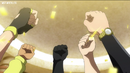 BC Sol fists up