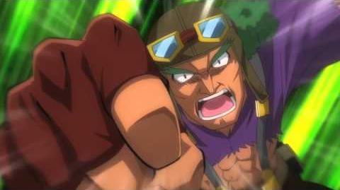 Beyblade Shogun Steel Clip 8 Bandit Golem
