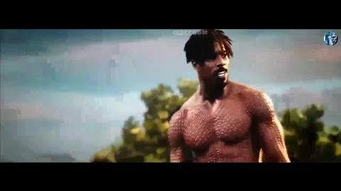 Black Panther Movie Clip Killmonger vs Black Panther fight scene-0