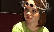 An 8-year old Jodie in a lab test
