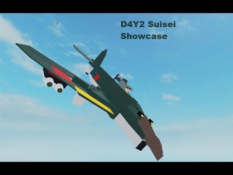 D4Y2 Suisei Showcase | Plane Crazy | Roblox