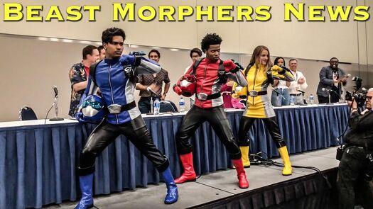 POWER RANGERS Beast Morphers New Cast Announcement