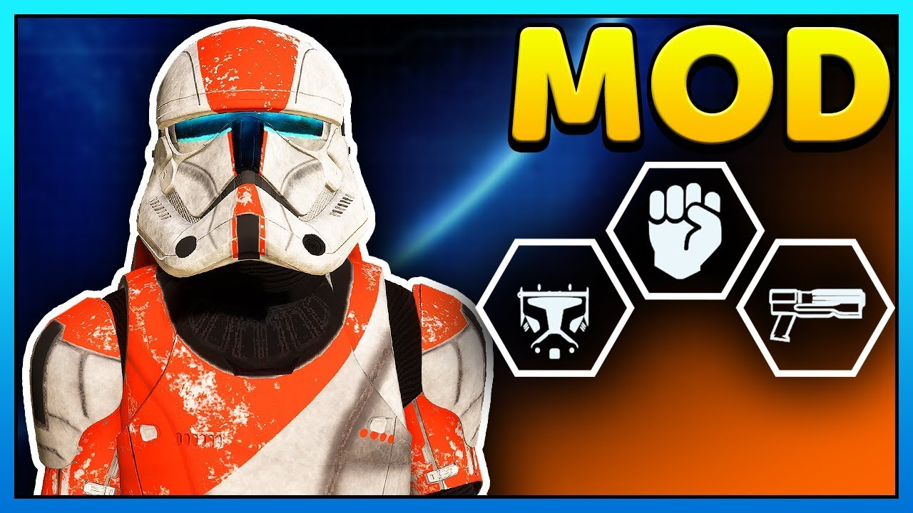 CLONE COMMANDO Mod - Star Wars Battlefront 2 Clone Commando Gameplay