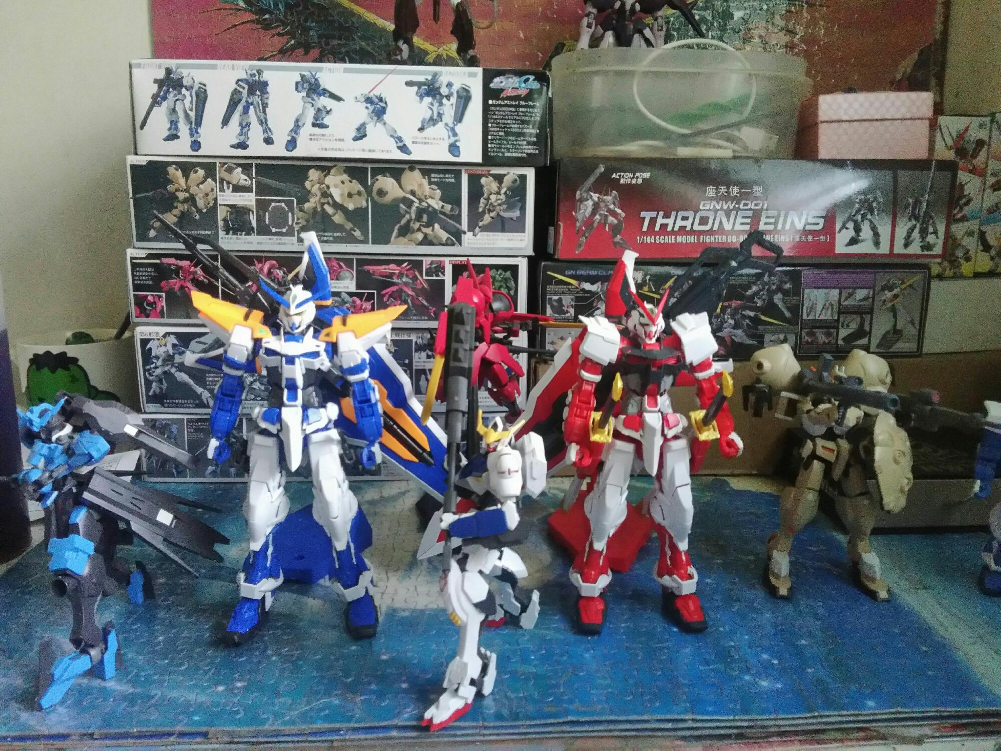 All my gunpla