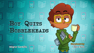 Boy Quits Bobbleheads