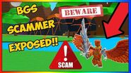 😱Exposing The *BIGGEST SCAMMER IN BGS* HE OFFERED OVER 50,000 ROBUX FOR PETS (Roblox)