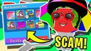 MAD SCIENTIST FINDS A *GENIUS* WAY TO *SCAM* ALL OF OUR SECRET PETS IN ROBLOX BUBBLEGUM SIMULATOR!!