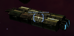 Colonial Freighter in FID
