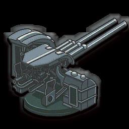 Twin 127mm AA Gun (Type 89)