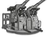 Twin 40mm AA L60 Bofors