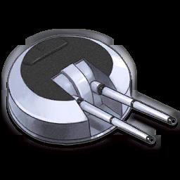 """Twin 113mm (4.5""""/45 QF Mk I)"""