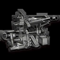 "Twin 40mm Vickers (""HI"" Shiki Type 91)"