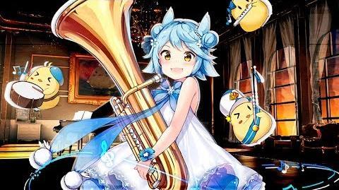 Azur Lane Live2D Fubuki Music Pixy