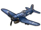 """F4U (VF-17 """"Pirate"""" Squad)"""