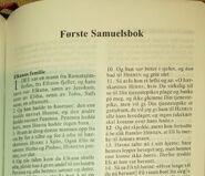 Første Samuelsbok