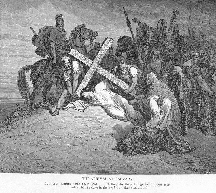 Luke23b Jesus Arrives at Calvary.jpg