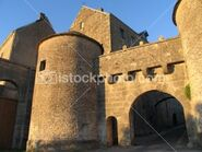 Town wall gate